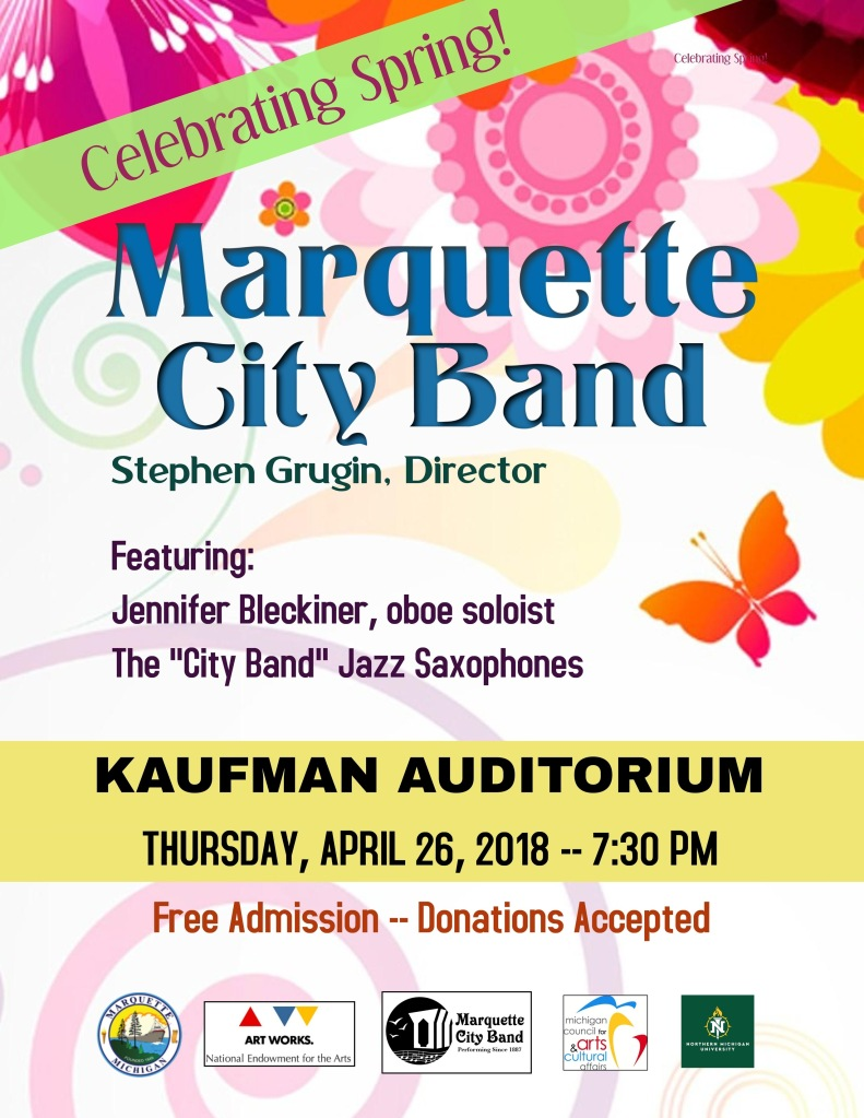 Past Performances | Marquette City Band